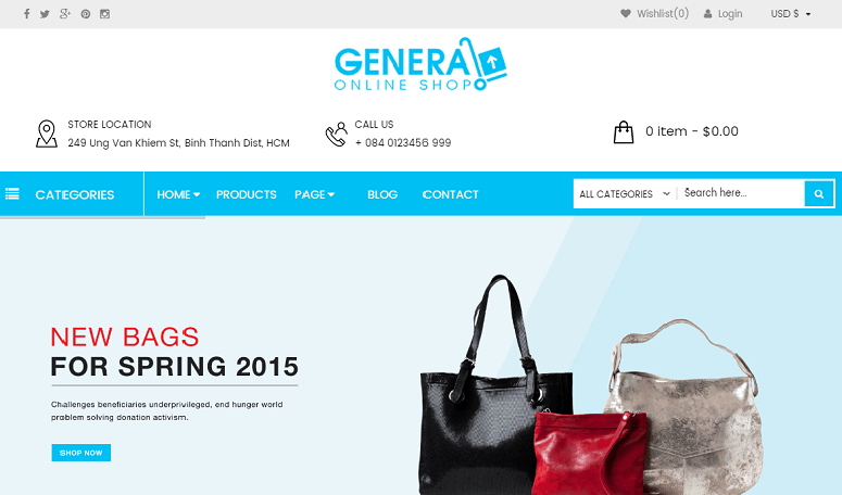 general Deal WordPress