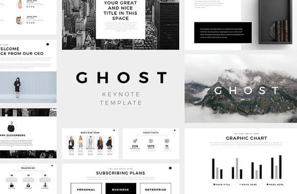 ghost For Keynote Template