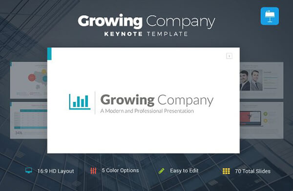 growing For Keynote Template
