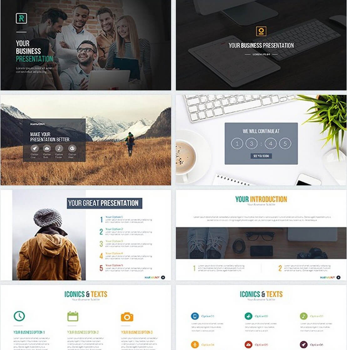 harmony For Keynote Template