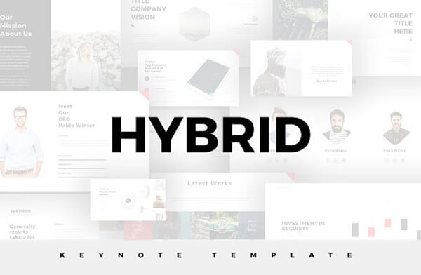 hybrid For Keynote Template