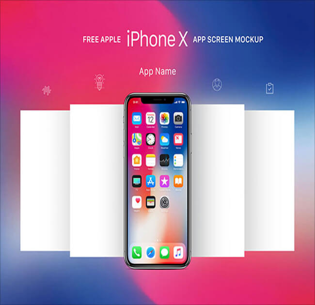 iPhone X App Screen Best Free