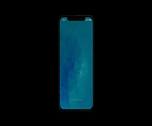 iPhone X Free Template Download
