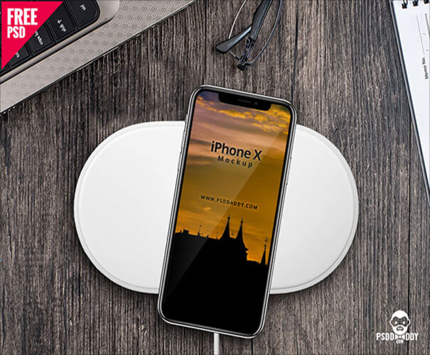 iPhone X PSD Template Download