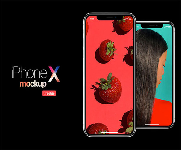 iphone x freebie Template Download