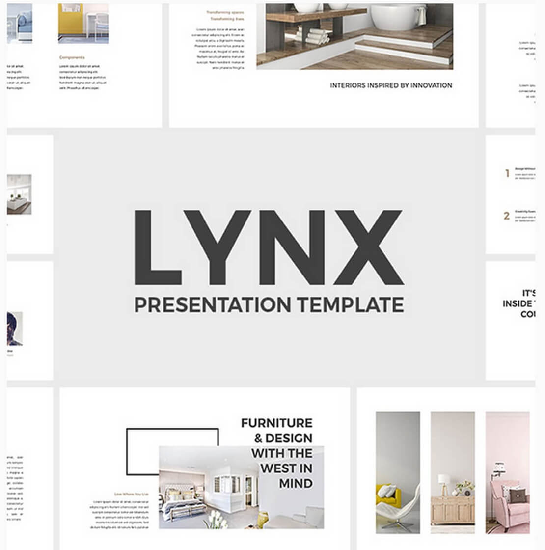 lynx For Keynote Template Presentation
