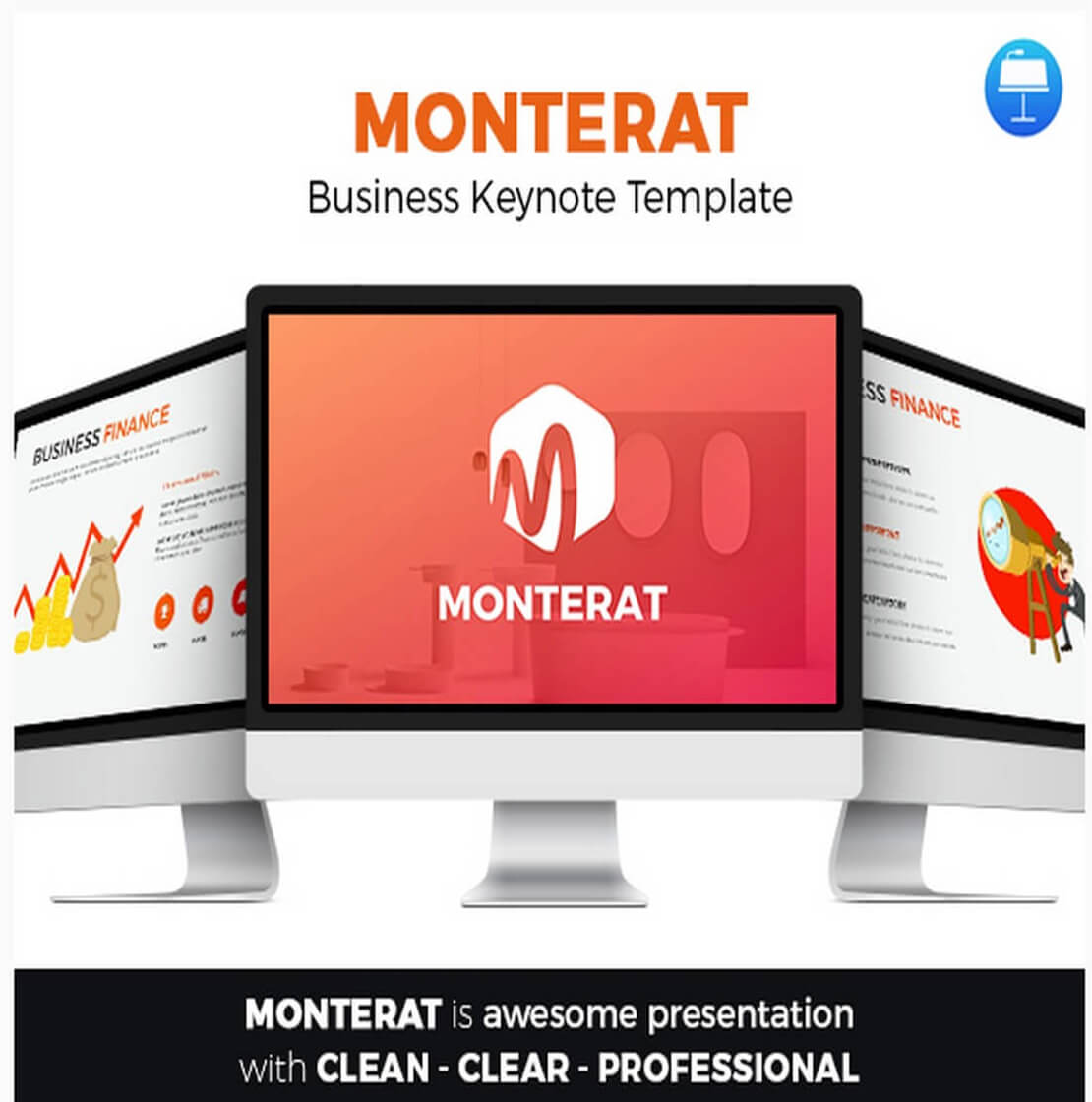 monterat Best Keynote Template For