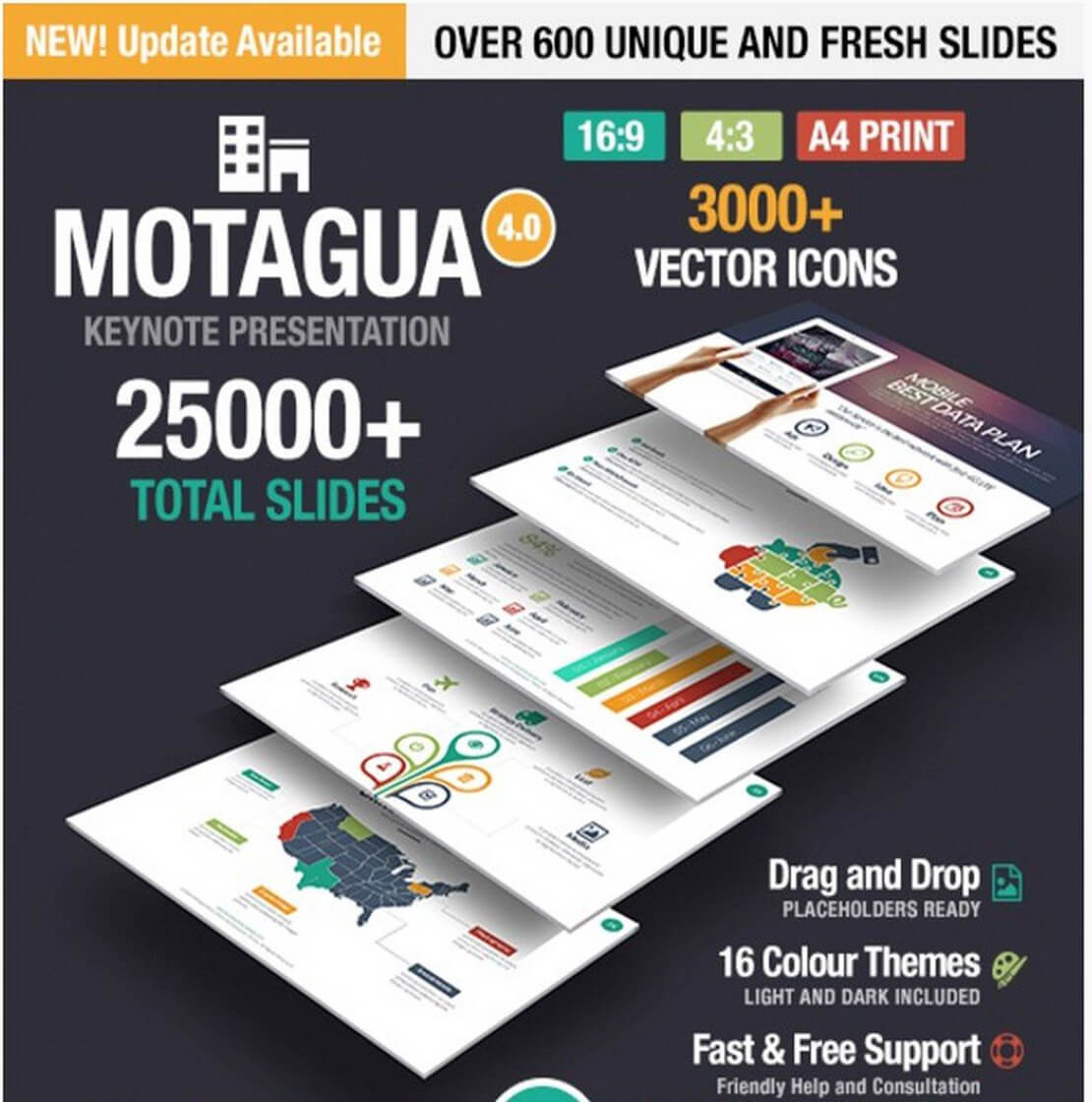 motagua Best Keynote Template For