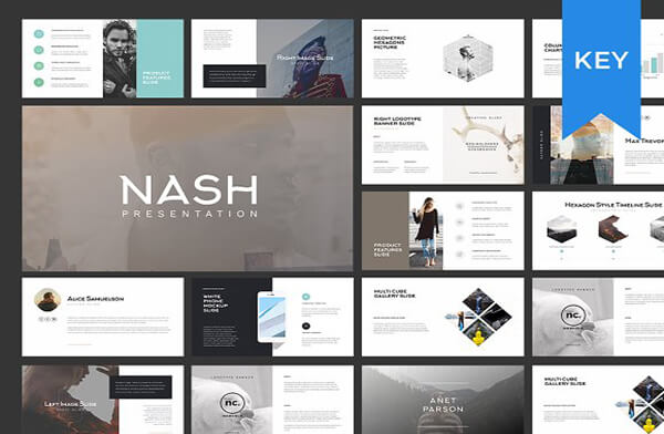 nash Best Keynote Template For