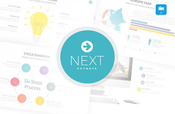 next key Best Keynote Template For