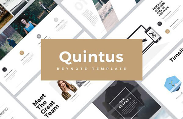 quintus Keynote Template For Presentation