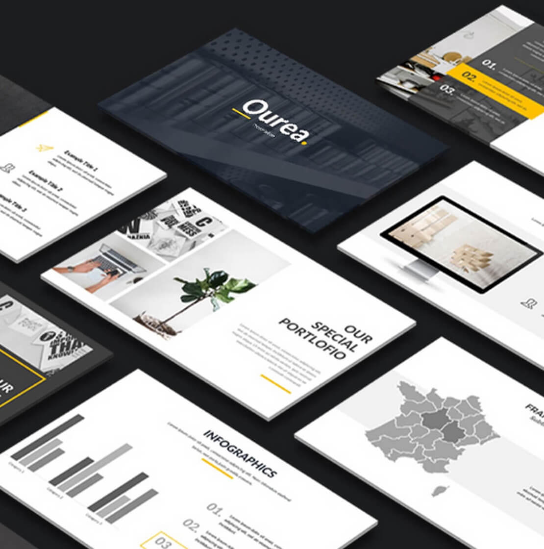qurea Keynote Template For Presentation