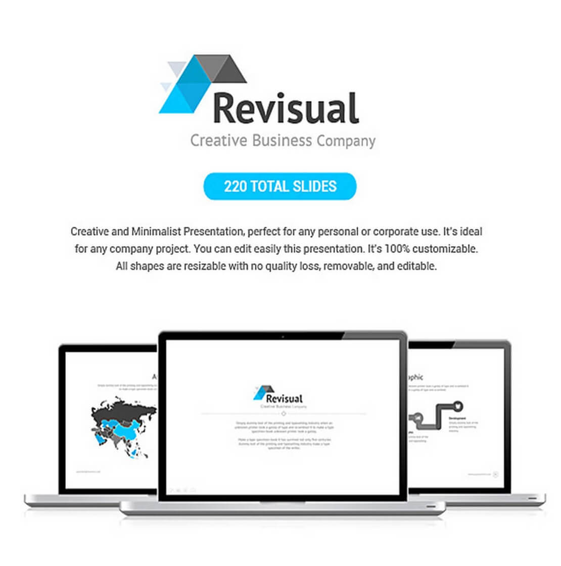 revisual Keynote Template For Presentation