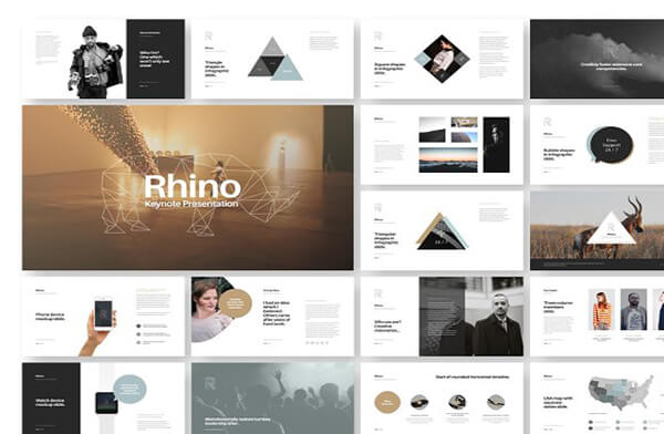 rhino Keynote Template For Presentation