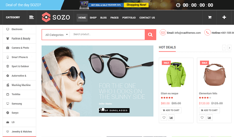 sozo wordpress theme
