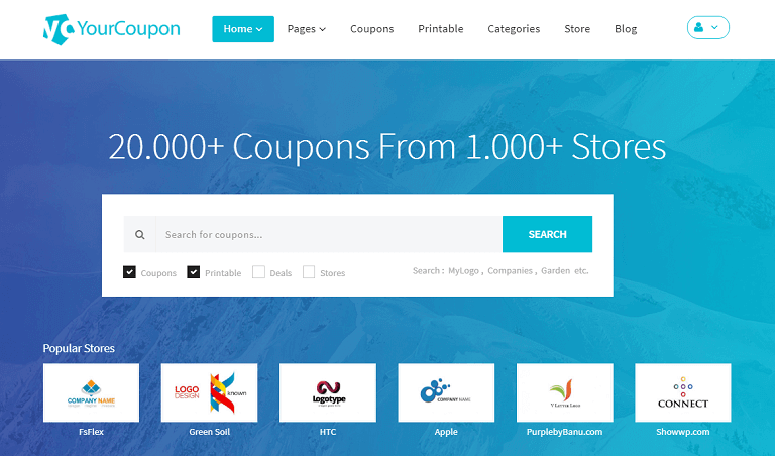 yourcoupon wordpress theme