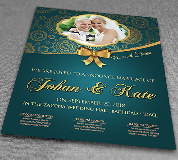 Amazing Beautiful Invitation