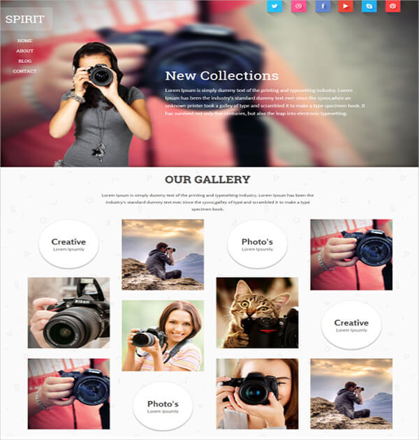 Awesome HTML5 Photography
