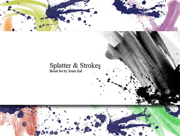 Awesome Splatter Watercolor