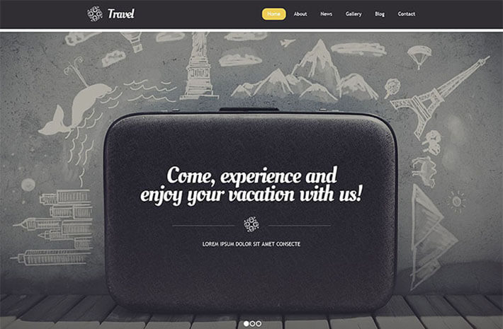 Bag Pack Responsive Travel
