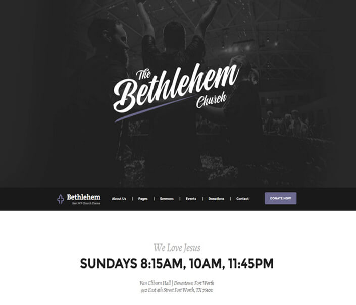 Bethlehem Church Best Responsive