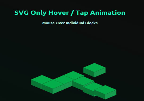 Block SVG Animation Example