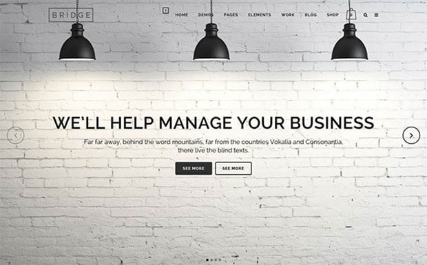Bridge Business WordPress
