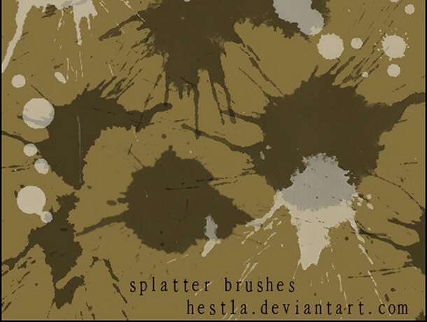 Brush Pack Best Free Splatter