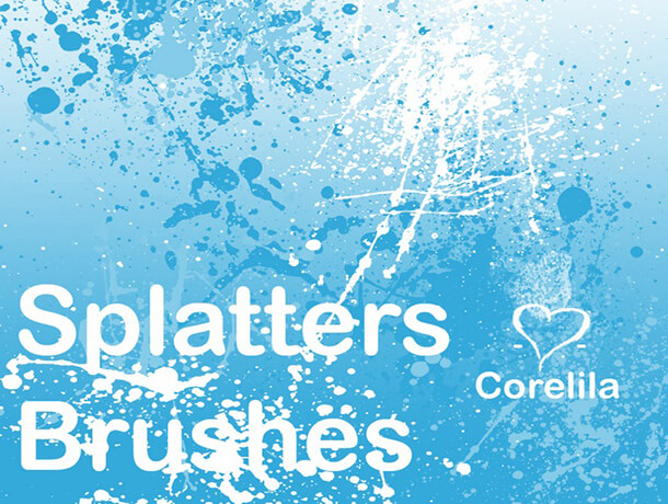 Brushes Best Free Splatter