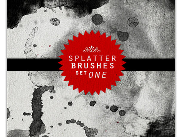 Brushes Set Best Free Splatter