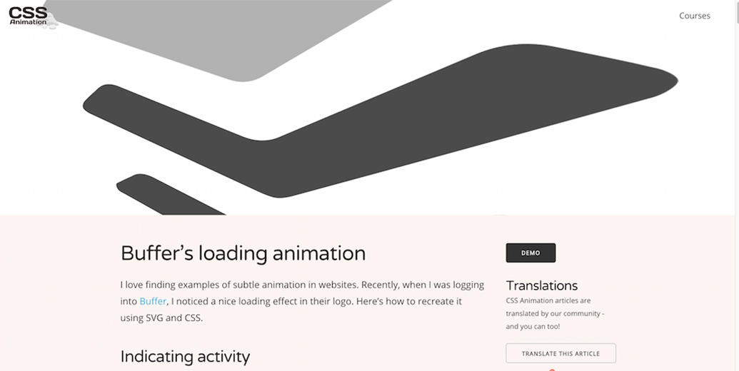 Buffers SVG Animation
