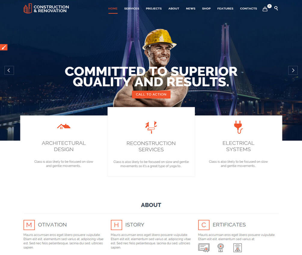 Construction Responsive Small