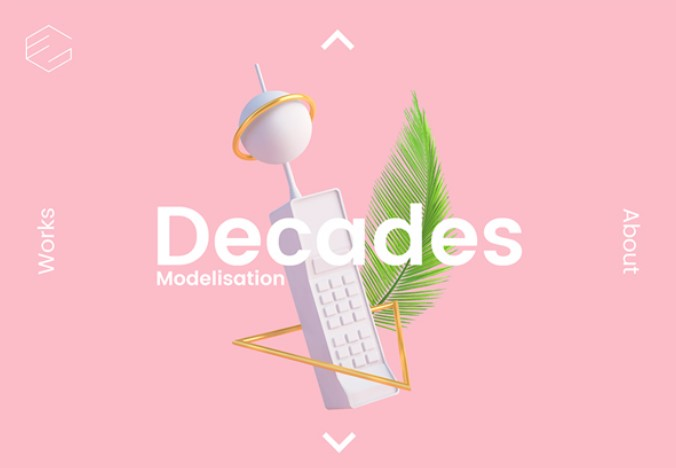 Decades Scrolling Effect