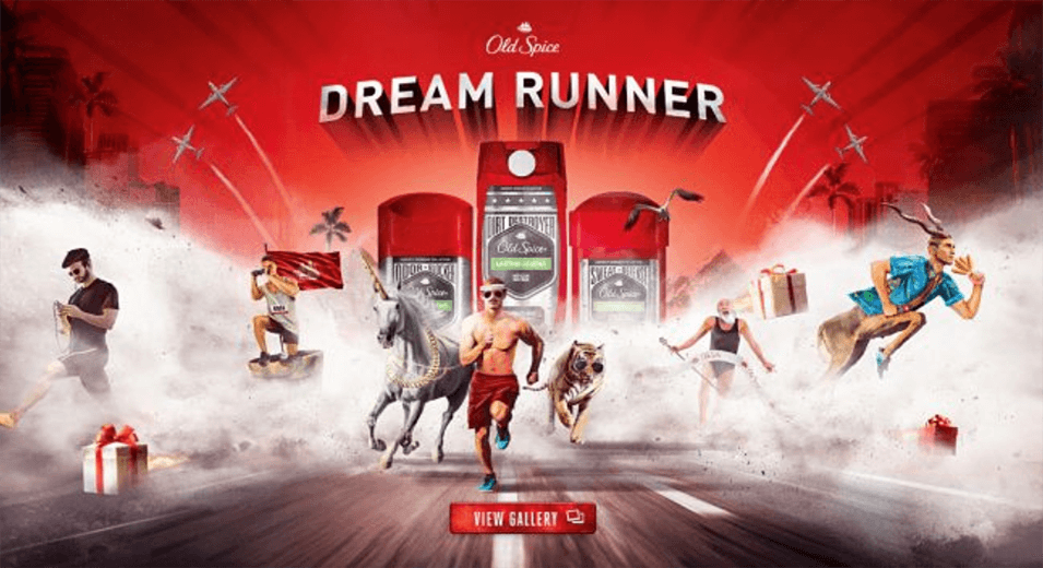 Dream Runner Parallax Effect