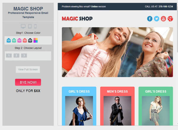 Best Responsive HTML Email And Newsletter Templates - Best ecommerce email templates