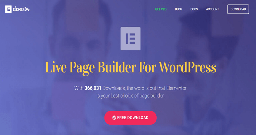 Elementor Page Builder For You
