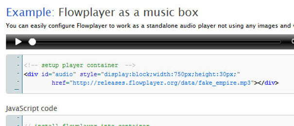 Explain Music Player