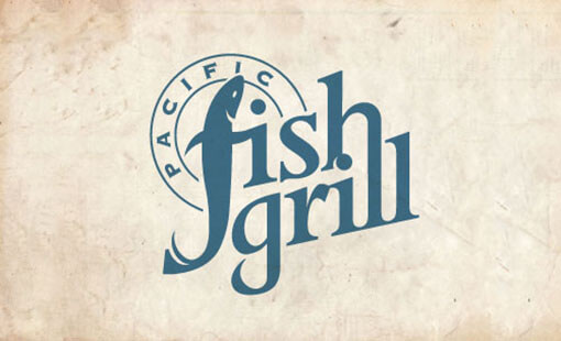 Fish Grill Logo Design Example