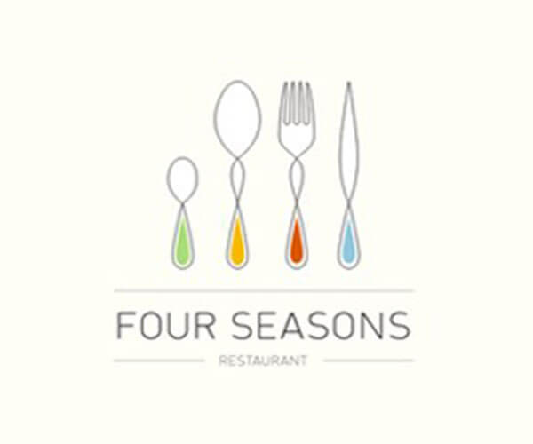 Four Season Creative Restaurant Logo