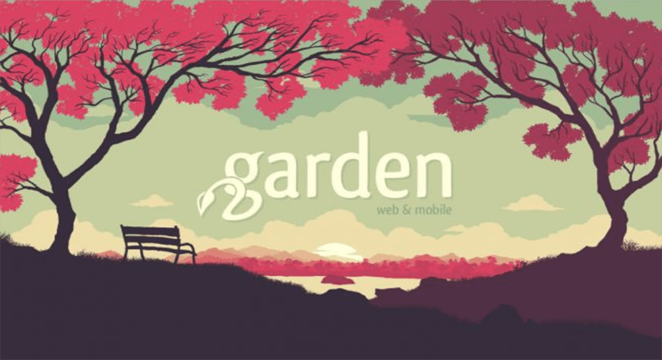 Garden Design with Parallax