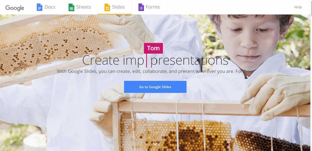 Google Slides Tool for Creating