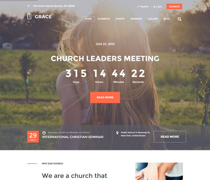 Grace Church WordPress
