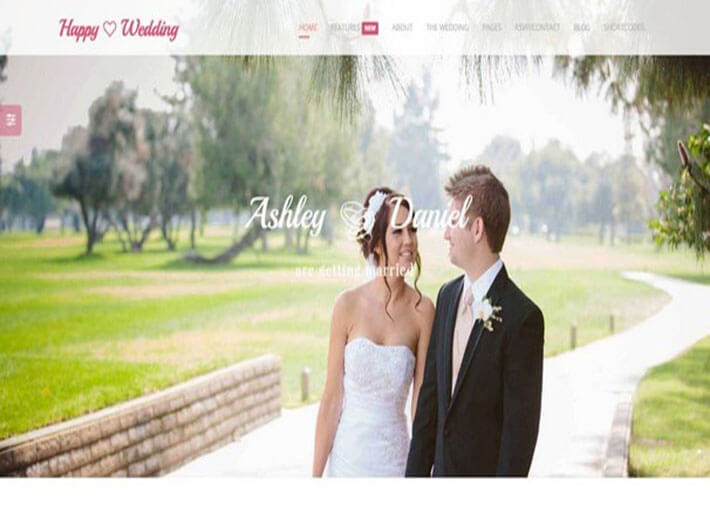 Happy HTML Wedding