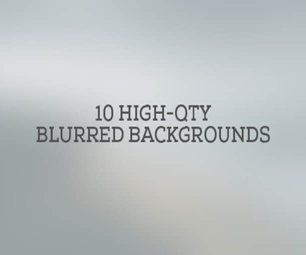 High Quality Blurred Pack For Graphic