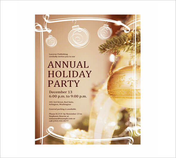Holiday Template Download