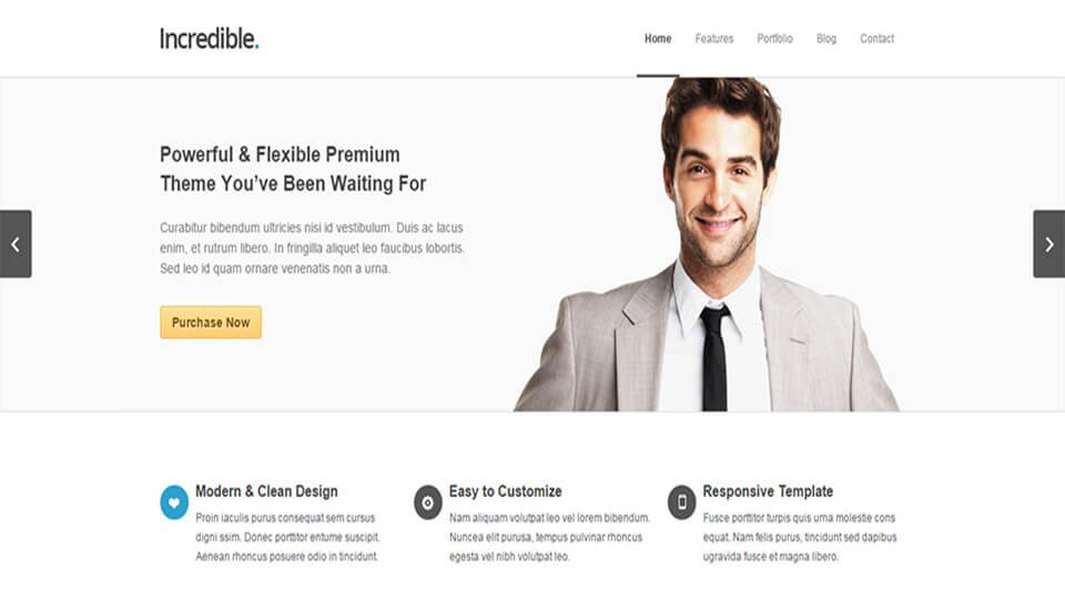 Incredible Drupal Template