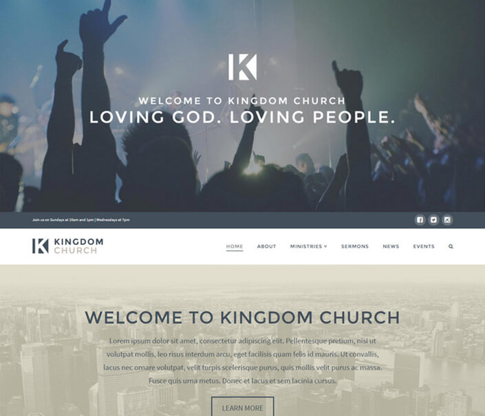 Kingdom Church WordPress