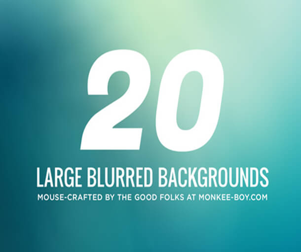 Large Blurred Pack For Graphic