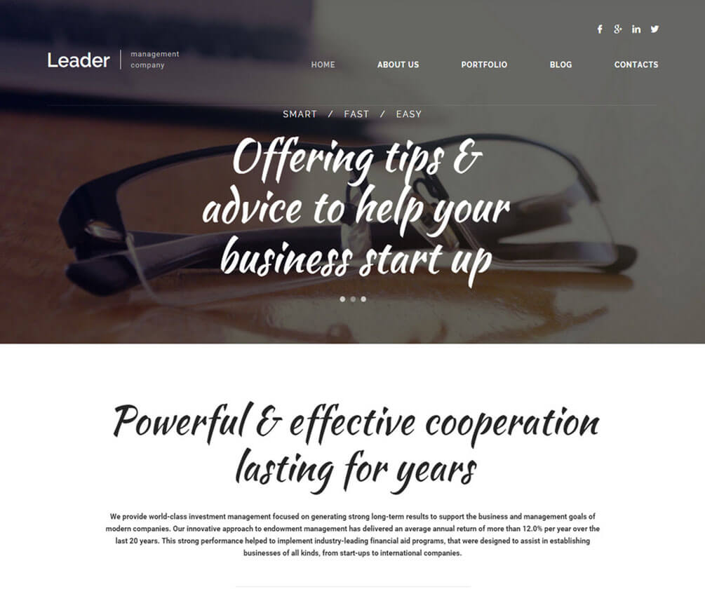 Leader Small Business