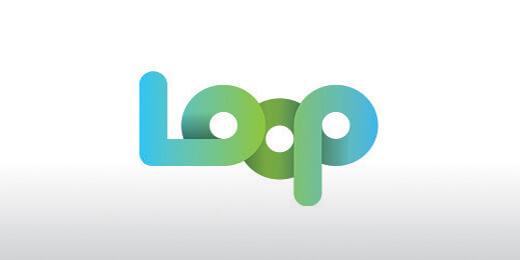 Loop Gradient Logo